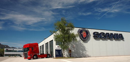 Scania commerciale Esterno